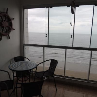 Belíssimo Apto Frente Mar - 3 Suítes - Mobiliado + 218 m² - Centro - Balneário Camboriú/SC