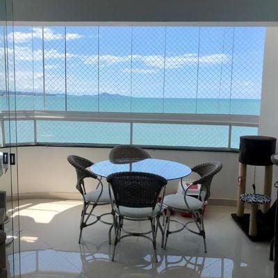 Apartamento Frente Mar para Temporada Edifício Lady