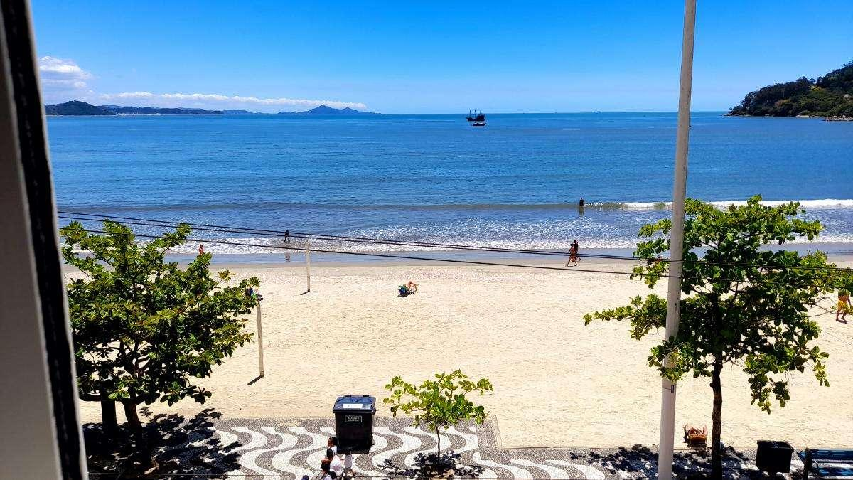 Apartamento Frente Mar para Temporada Edifício Tapuía