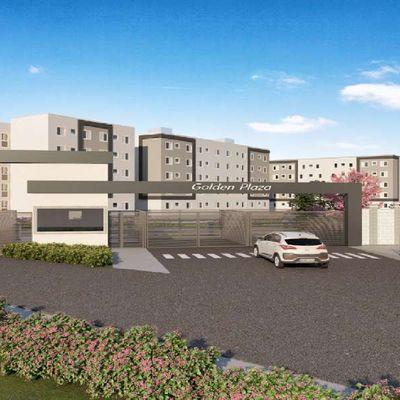 Residencial Golden Plaza MRV | Apartamentos de 2 Dormitórios | Casa Verde e Amarela