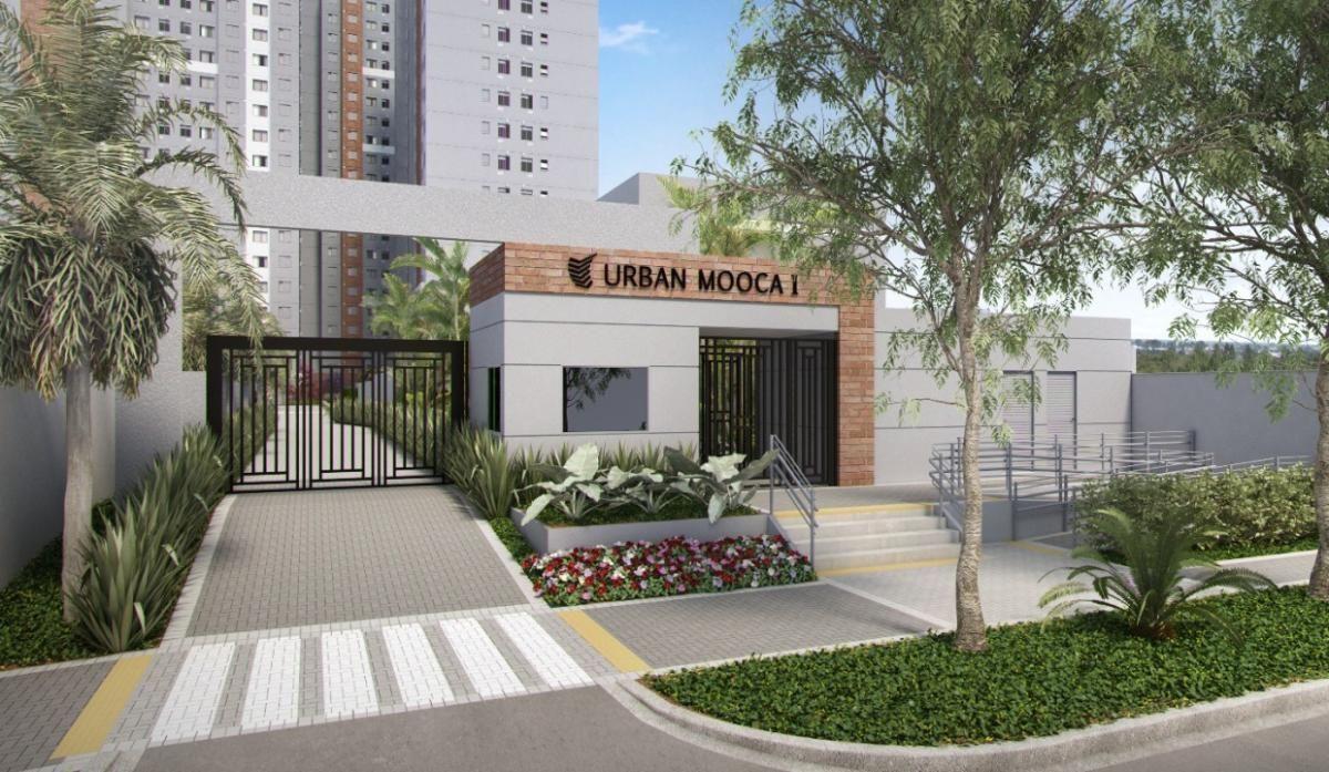 Urban Mooca | 2 dorms | 1 vaga | andar alto | Vista Livre | 40 metros