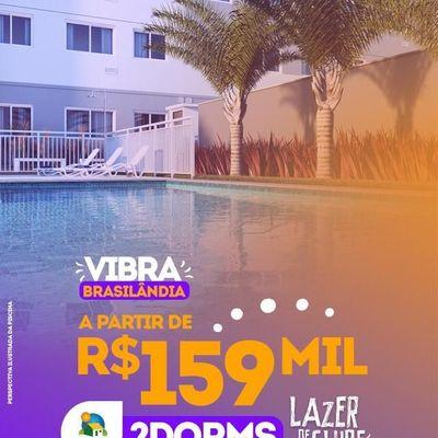 Vibra Brasilândia | Minha Casa Minha Vida | 2 dormitórios