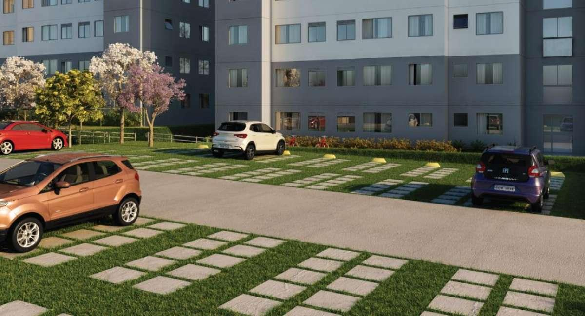 Vivere Tenda | Apartamentos de 2 Dormitórios | Casa Verde e Amarela