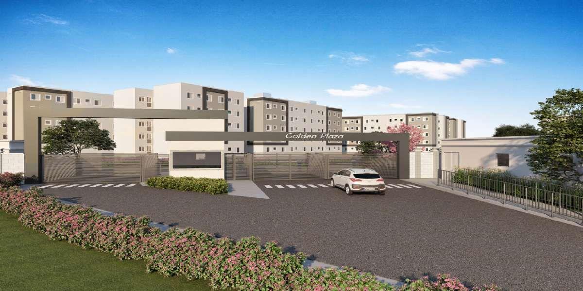 Residencial Golden Plaza MRV   Apartamentos de 2 Dormitórios   Casa Verde e Amarela