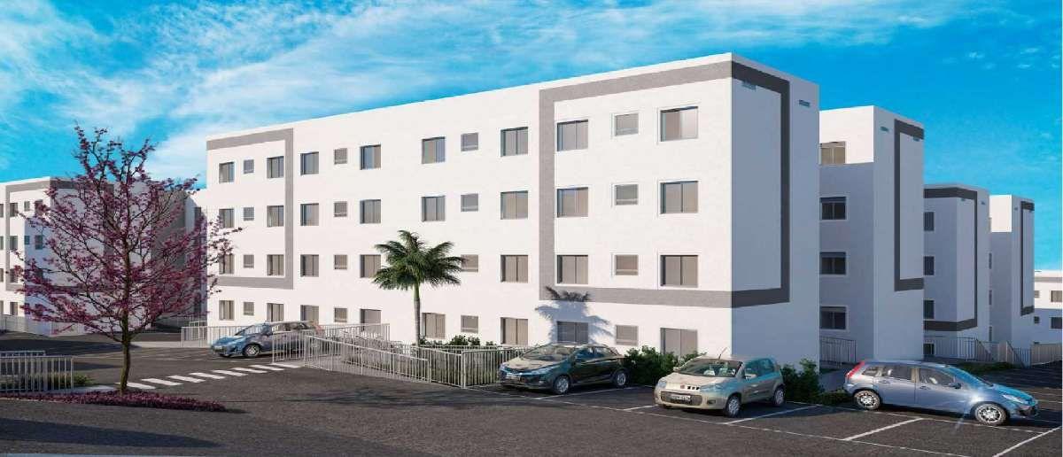 Residencial Salinas do Ceara MRV   Apartamentos de 2 Dormitórios   Casa Verde e Amarela