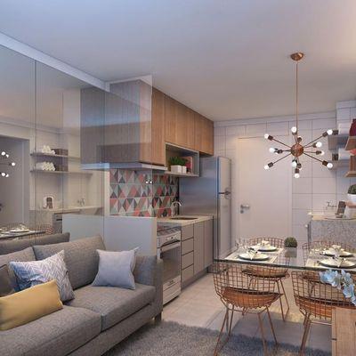 Plano e Brás | 1 e 2 dormitórios | Casa Verde e Amarela | Rua Caetano Pinto 252