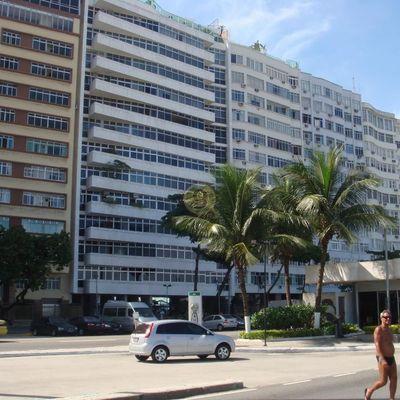 Lindo apartamento 4 qts frente a Praia de Copacabana