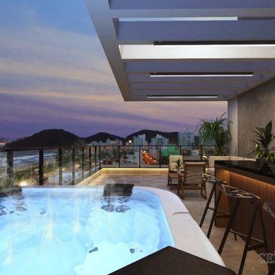 Triplex para Venda em Itajaí, Praia Brava, 4 dormitórios, 4 suítes, 5 banheiros, 3 vagas