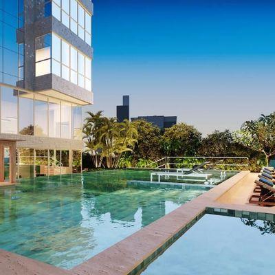 Apartamento espetacular com 4 Suítes a uma quadra da Praia no Muller Ocean Club Barra Norte de Balneário Camboriú