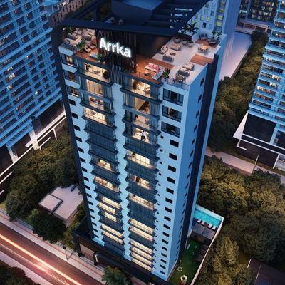 Admirá - Lindo Apartamento a Venda na melhor região de Balneário Camboriú, com 4 Suítes e 3 Vagas de Garagem, Rooftop e Lazer super completo