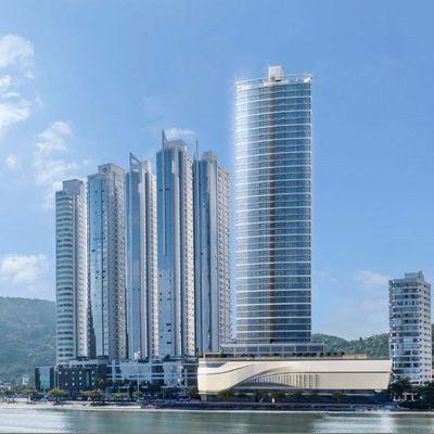 Apartamento Frente Mar no Edifício PHAROS com 4 Suítes e 3 a 4 Vagas em  Balneário Camboriú