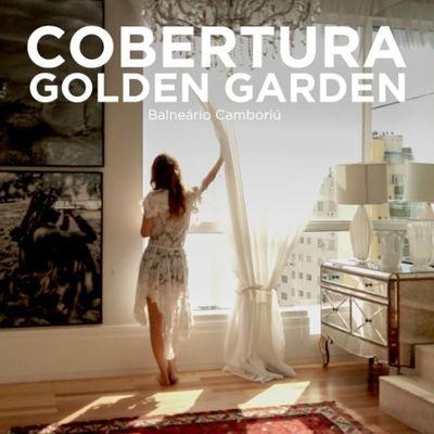 Golden Garden Apartamento Duplex linda vista mar com 4 suítes e 5 vagas no coração de Balneário Camboriú