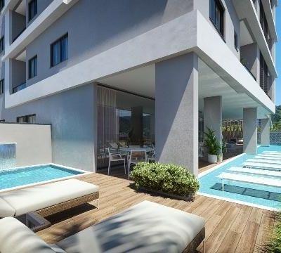Apartamento para venda com 74 metros quadrados com 2 quartos Ed. Costa Rica na PRAIA BRAVA - Itajaí - SC