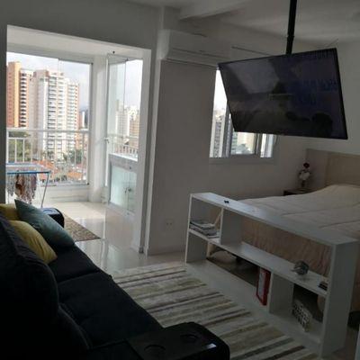 Excelente apartamento na Chácara Santo Antônio
