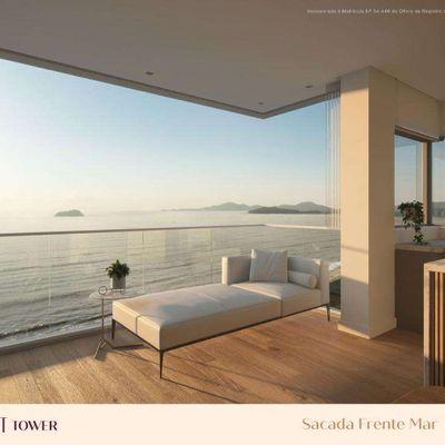 Sunset Apartamento Frente Mar Piçarras com 3 Suítes