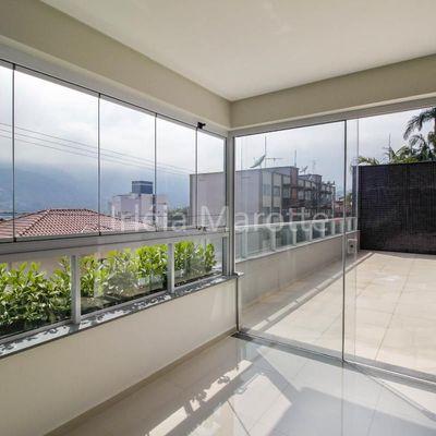 Coral Gables Residence Apartamento com terraço externo na Nova Brasília em Jaraguá do Sul