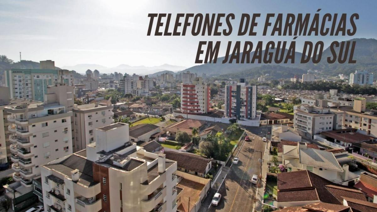 Telefones de Farmácias Abertas em Jaraguá do Sul durante o Isolamento do Coronavirus