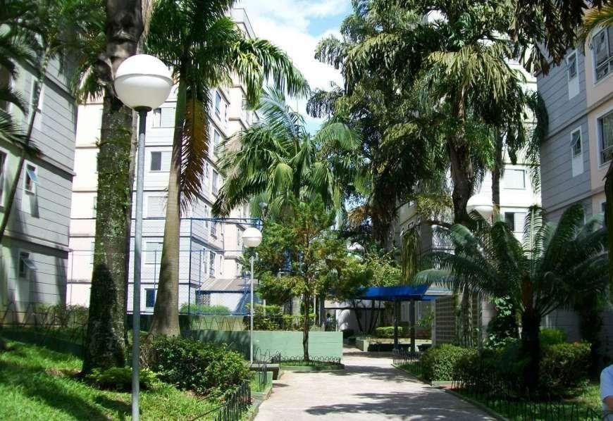 Apartamento de dois dormitórios na Vila Livieiro