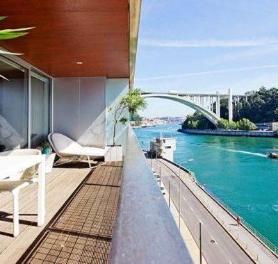 Edifício Rio Douro - arquitetura moderna com linhas sóbrias e elegantes