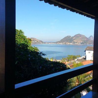 Casa vista Baía de Guanabara 5 quartos 6 varandas 4 vagas