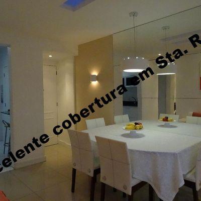 Ótima cobertura duplex reformada 2 salas 2 quartos suite vaga terraço com churrasqueira