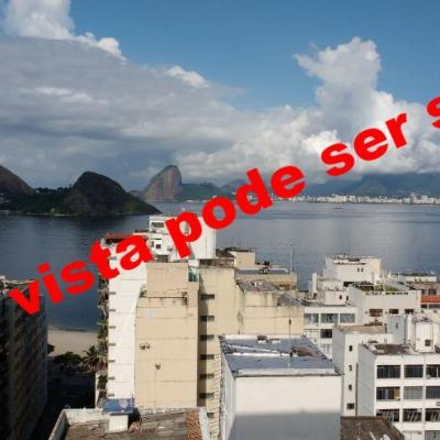 Excelente apartamento Icaraí 1 quarto dep empreg 1 vaga vista Baía de Guanabara