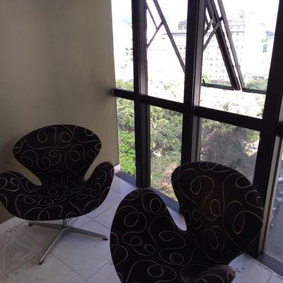 Excelente sala comercial vista Baía de Guanabara ampla ótimo preço