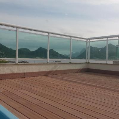 Linda cobertura duplex vista mar lazer 3 quartos 2 suites 2 vagas piscina churrasqueira