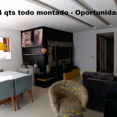 Apartamento pronto para morar decorado mobiliado Jardim Icaraí 4 quartos 3 suites 2 vagas