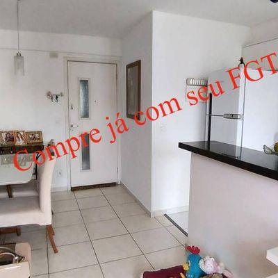 Ótimo apartamento 2 qts com suíte em condomínio de lazer completo