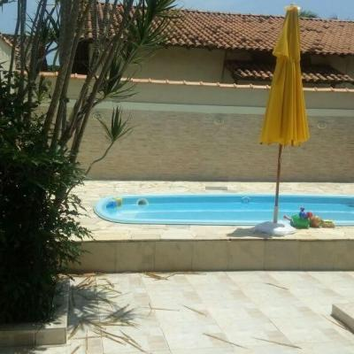 Grande oportunidade: Linda casa Itaipu próxima Av Central, 3 quartos, piscina, churrasqueira