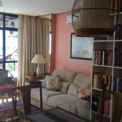Amplo 2 quartos com suíte e escritório - finamente decorado