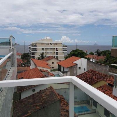 Linda cobertura vista Praia de Piratininga - Lagoa e Rio de Janeiro - 2 suites lazer - Aceita troca por apto 3 qts em Itacoatiara ou Camboinhas de maior valor