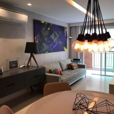 Lindo apartamento novo decorado Jardim Icaraí 3 quartos 2 vagas