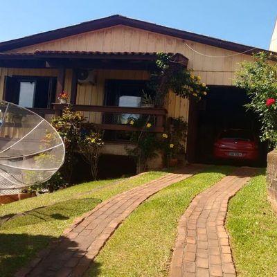 Casa para Venda em Estância Velha, Sol Nascente, 3 dormitórios, 1 banheiro, 3 vagas