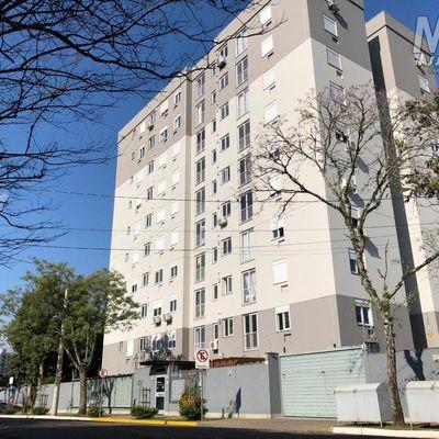 Apartamento para Locação em Novo Hamburgo, Rondônia, 2 dormitórios, 1 suíte, 2 banheiros, 1 vaga