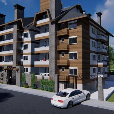 Apartamento para Venda em Canela, Loteamento Remanço, 1 dormitório, 1 suíte, 2 banheiros, 1 vaga