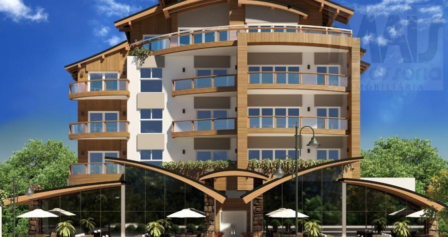 Apartamento para Venda em Gramado, Centro, 2 dormitórios, 1 suíte, 2 banheiros, 2 vagas