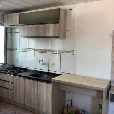 Apartamento para Locação em Novo Hamburgo, Hamburgo Velho, 2 dormitórios, 1 banheiro, 1 vaga
