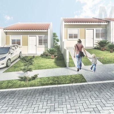 Casa para Venda em São Leopoldo, Vila Nova, 2 dormitórios, 1 banheiro, 2 vagas