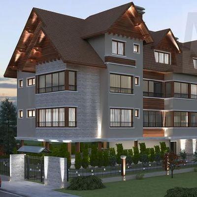 Apartamento para Venda em Gramado, Planalto, 3 dormitórios, 3 suítes, 4 banheiros, 3 vagas