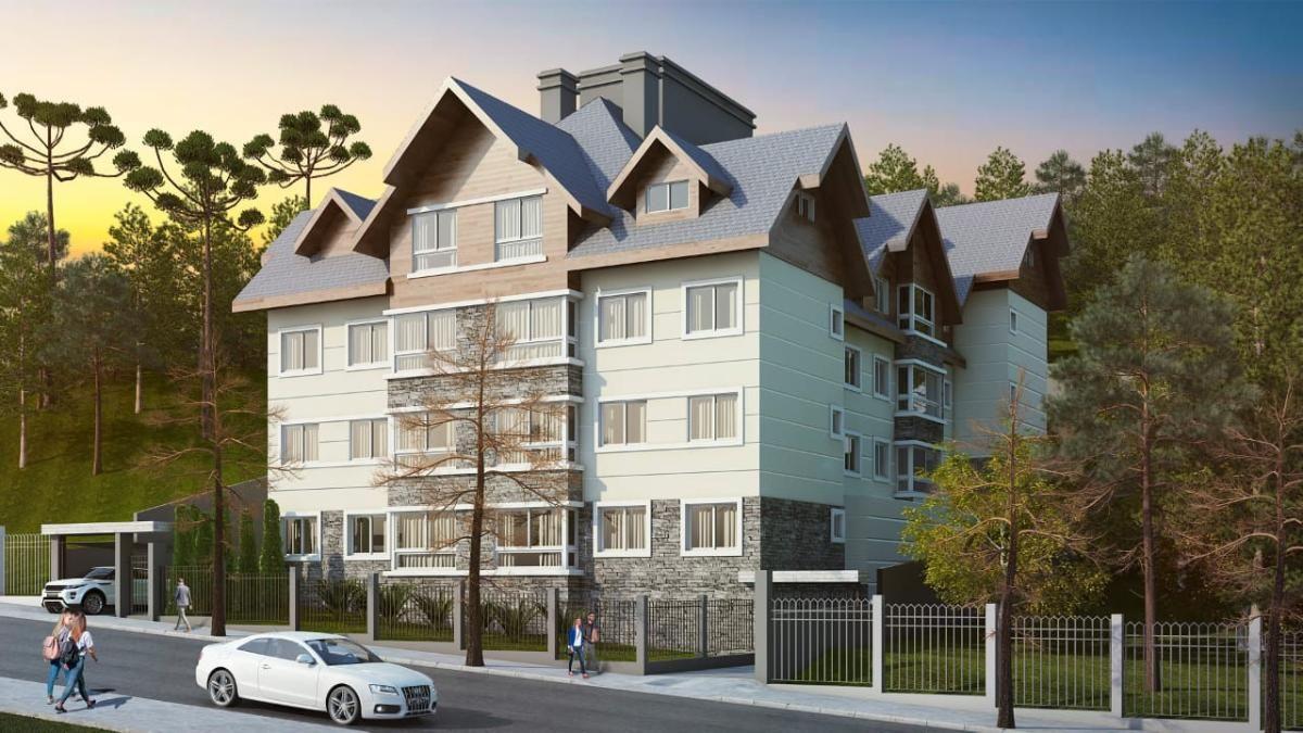 Apartamento a venda no Residencial Villagio, Gramado - RS