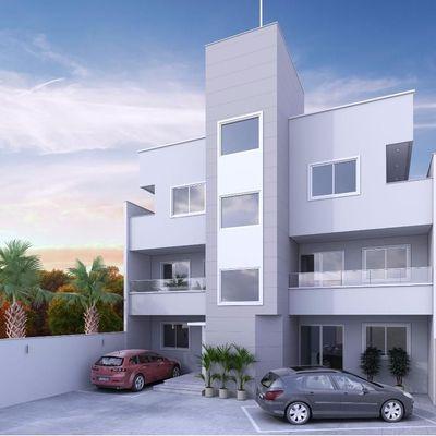Empreendimento em fase de construção no Centro 02 Dormitórios