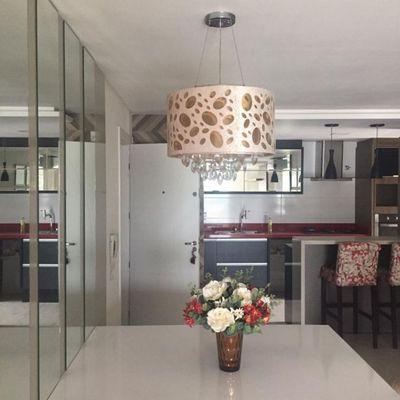Apto mobiliado 3 quartos - locação - Vila Lenzi