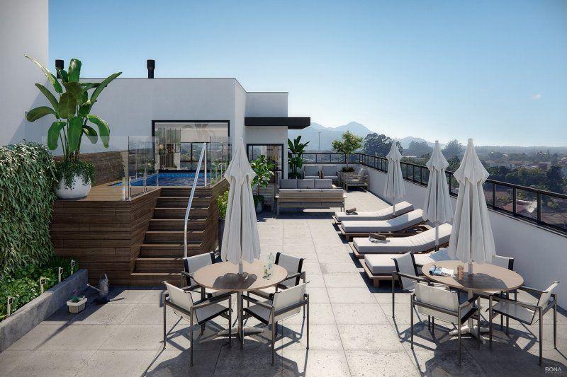 Cobertura duplex 3 suítes e piscina - Centro - Carbon Residence