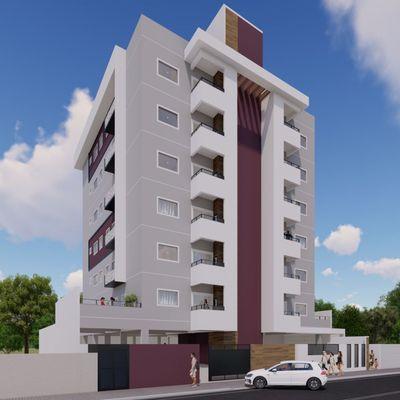 Apartamentos em construção no Bairro Vieiras próximo a WEG