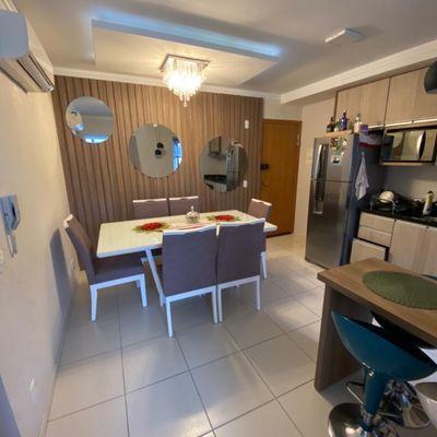 Apartamento semi mobiliado com 03 quartos no João Pessoa