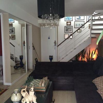 Linda Cobertura Barra decorada 2 quartos suite 2 vagas
