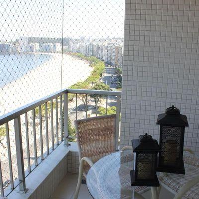 Lindo apartamento Icaraí Vista total Baía de Guanabara reformado 2 quartos vaga lazer