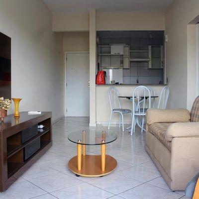 Apartamento Mobiliado para Venda - Condomínio Real Flat - Apartamento com Varanda 2 Quartos (sendo 1 Suíte) e 1 Vaga - José Augusto Araujo, Aterrado, Volta Redonda - RJ
